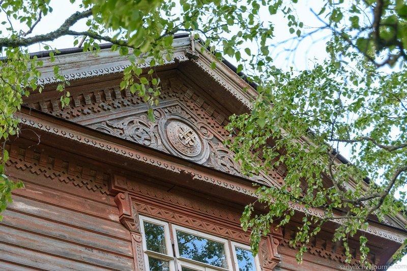 Вдоль Онеги. Деревянный модерн и резные мотивы путешествия, факты, фото