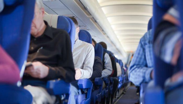 Случай в самолете Тель-Авив …