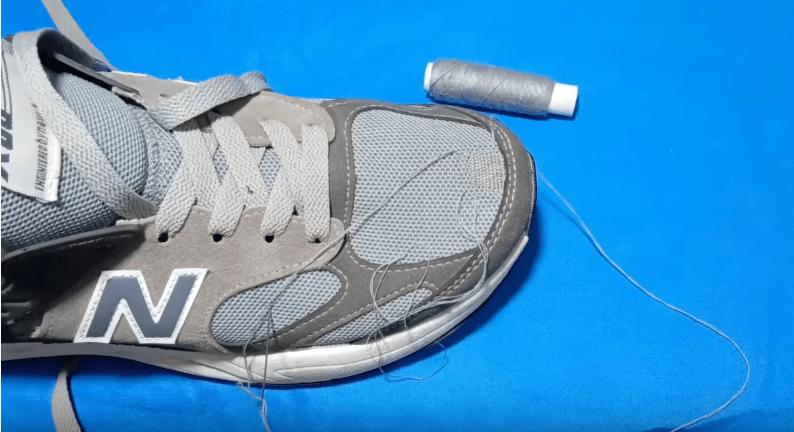 Отличный способ отремонтировать обувь обувь,рукоделие,своими руками,сделай сам