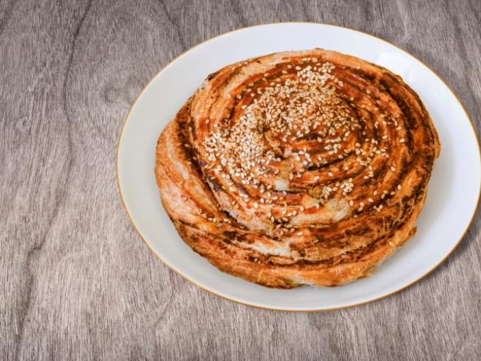 Татарские слоёные лепешки: катлама к чаю кухни мира,сладкая выпечка
