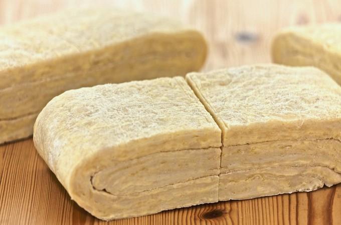 Сдобное слоеное тесто