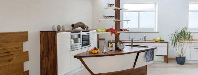 Нестандартные оригинальные кухни: дизайн, который вдохновляет
