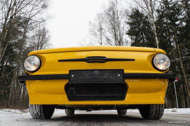 Запорожец-кабриолет на базе Porsche