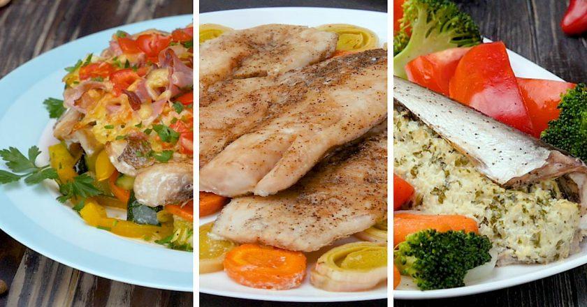 Сочная рыбка из духовки: три потрясающих рецепта