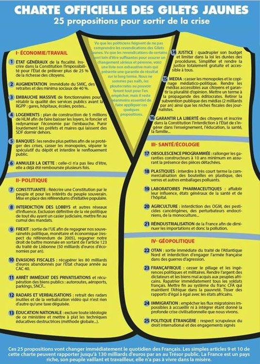 Опубликован манифест французской революции