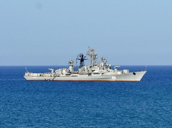 Сторожевик ВМФ России зашел в зону учений Украины и НАТО