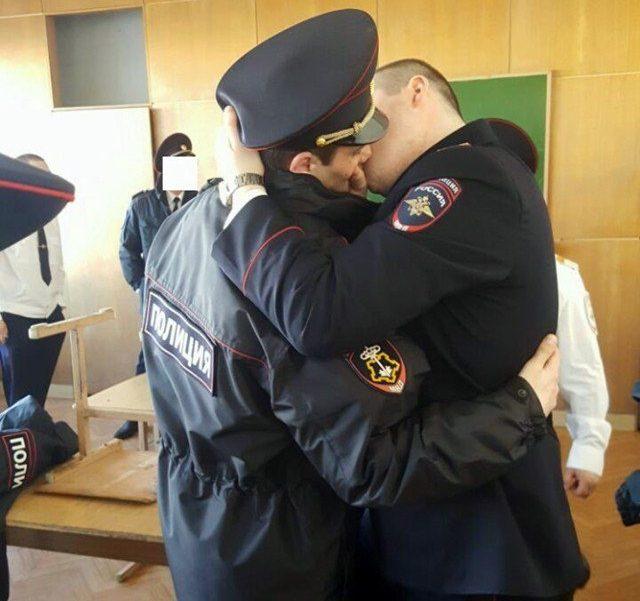 Пазлы советские, картинка полицейский прикол