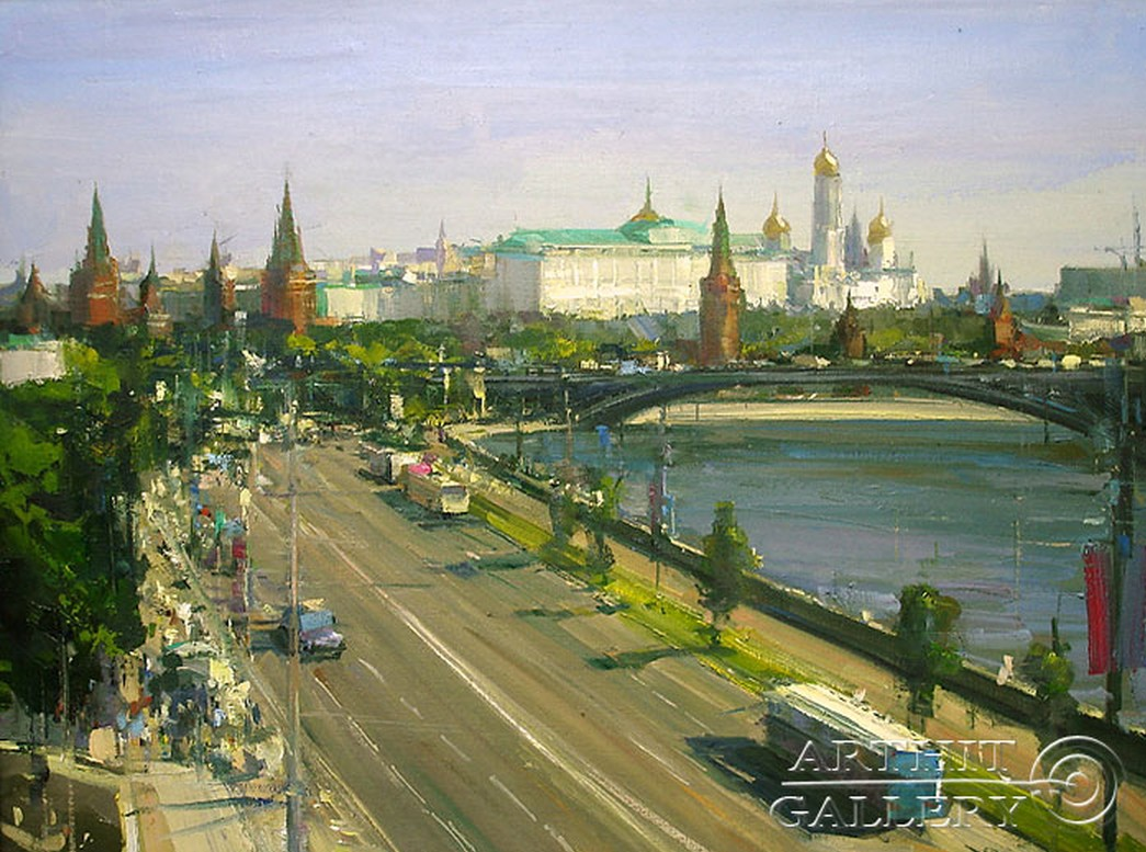 Города, где я бывал... Художник Александр Дубовский
