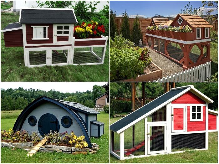 Как курятник превратить в оригинальное украшение приусадебного участка дача,идеи для дачи,курятник,сад и огород