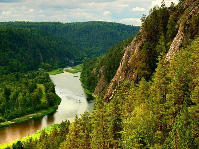 Агидель – Белая река. Красив…