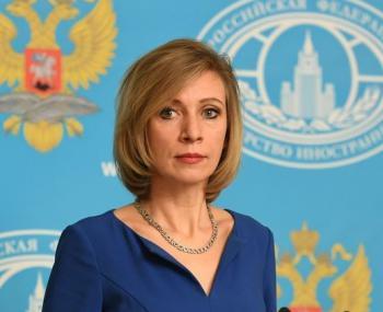 представитель российского МИДа мария Захарова