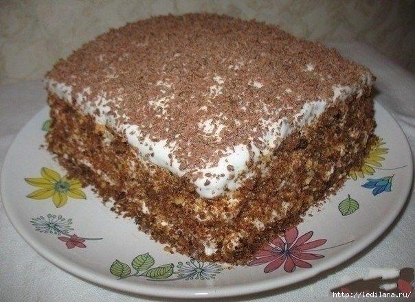 Ну, очень вкусный торт! Готовится легко и быстр