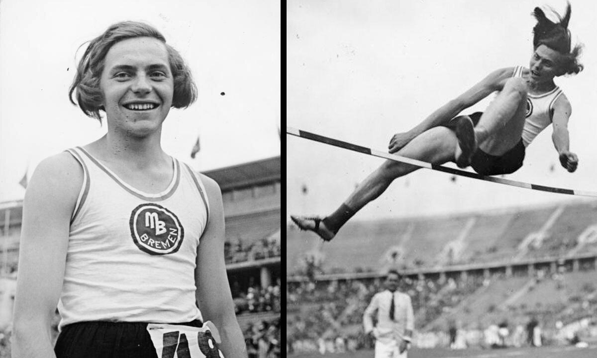 Реальная история немецкой чемпионки, которая до 19 лет носила платья, а оказалась… парнем. Фото до разоблачения