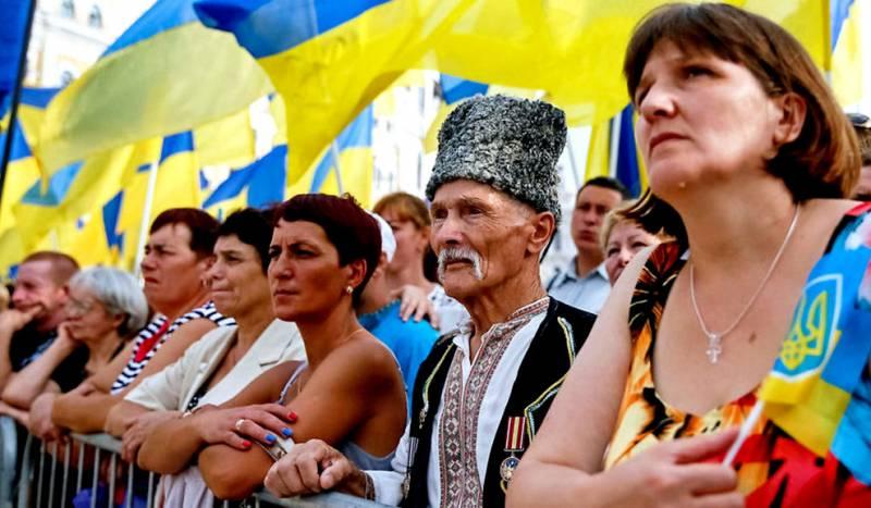 Украина: деградация уже заметна невооруженным глазом