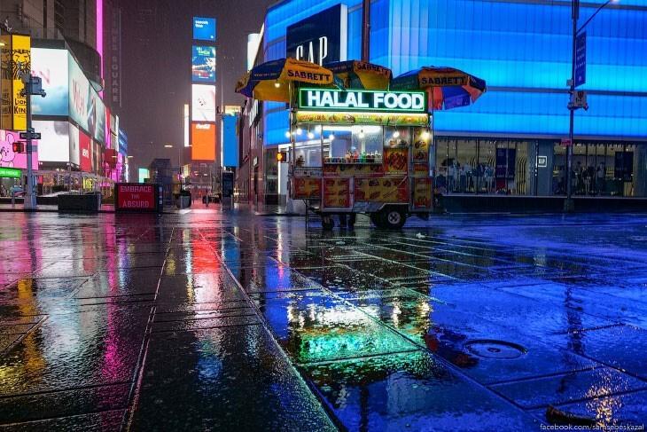 Атмосферная прогулка по ночной Таймс-сквер Нью-Йорк,США,Таймс-сквер