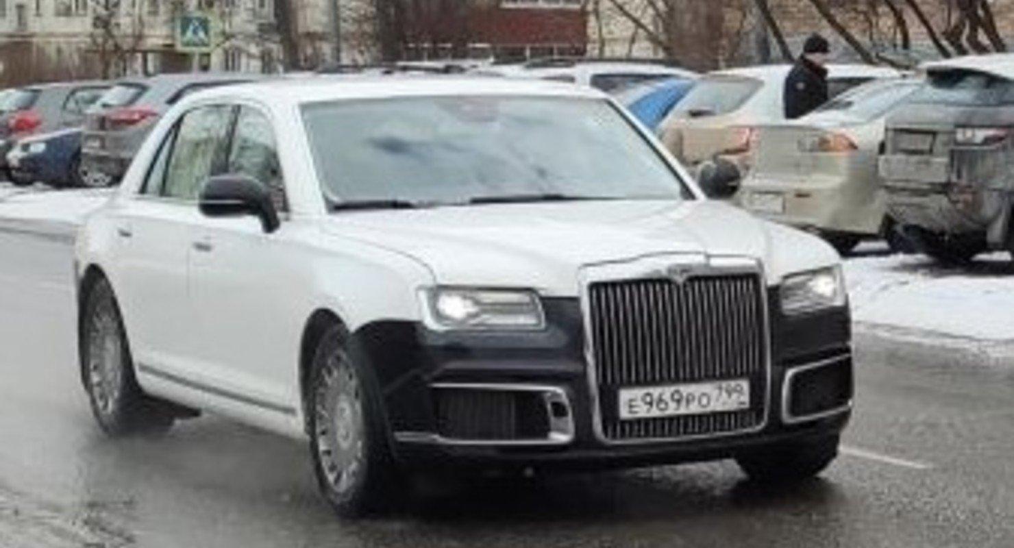 В Сети показали представительский седан Aurus Senat Автомобили