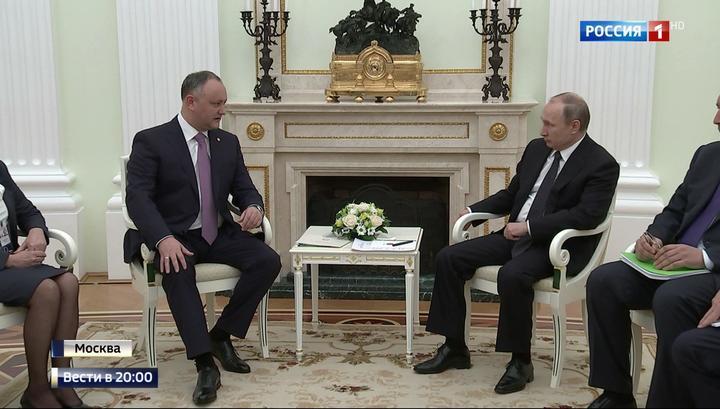 Президент Молдавии Игорь Дод…