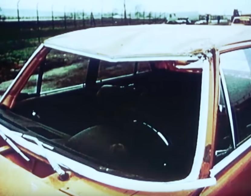 """""""Безопаснее, чем Вольво.""""Забытый Мерседес из 70-ых, способный выдерживать лобовой удар на 80 км/ч авто и мото,прошлый век"""