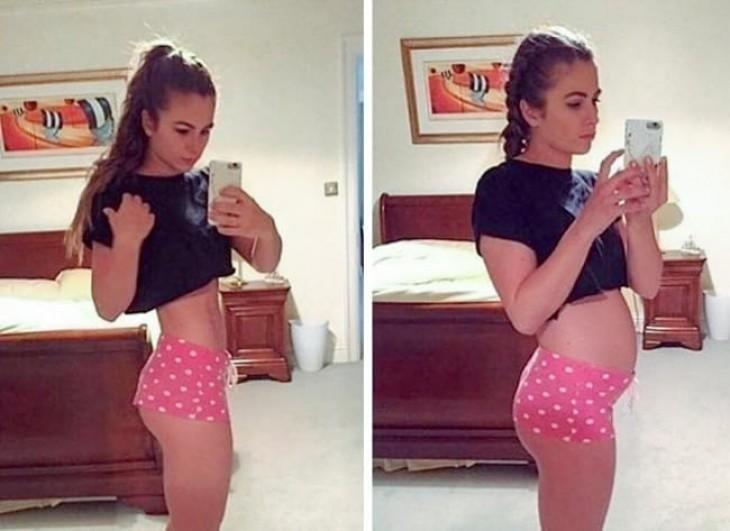 Фотографии, которые доказывают, что идеального женского тела не существует внешность, девушки, идеально, изьяны, спорт, тело, фигура