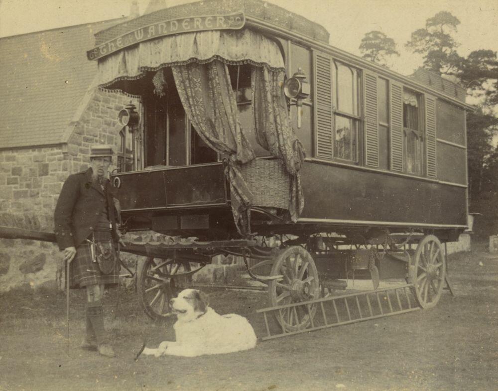 История путешествий: как выглядел первый автодом на колёсах история,кемпер,путешествия,туризм,шотландия