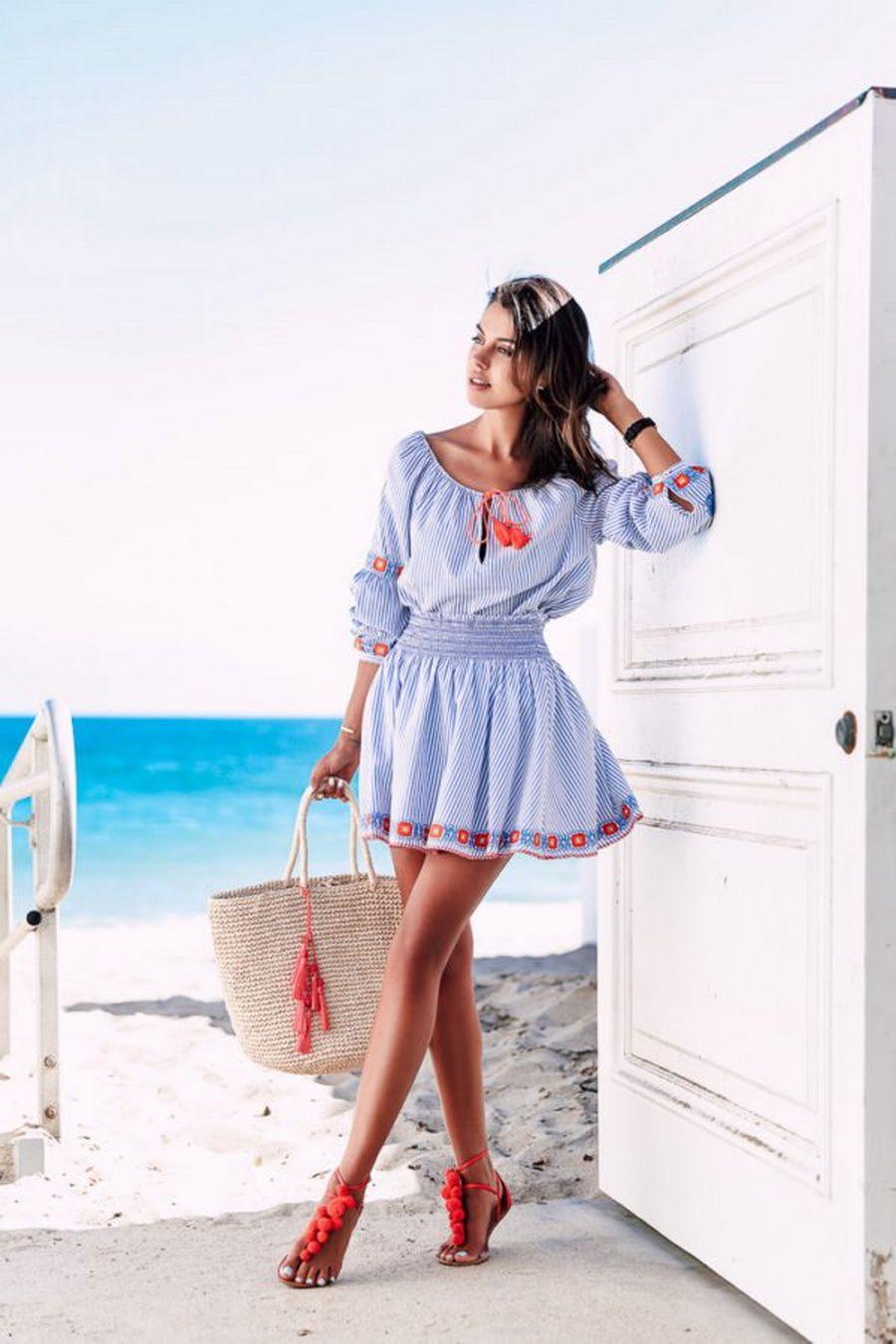 пляжная мода 2020