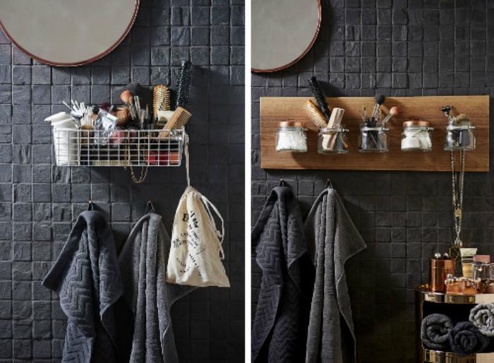 Подвесные системы для ванной комнаты. | Фото: Pinterest.