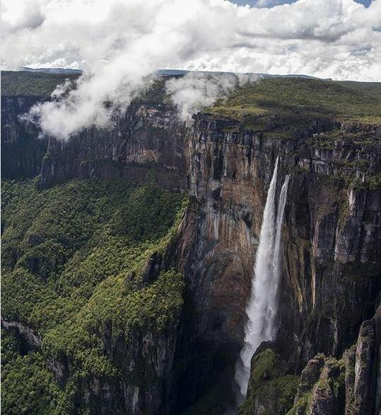 Затерянный мир и чуть-чуть истории Затерянный мир, венесуэла, водопад Анхель
