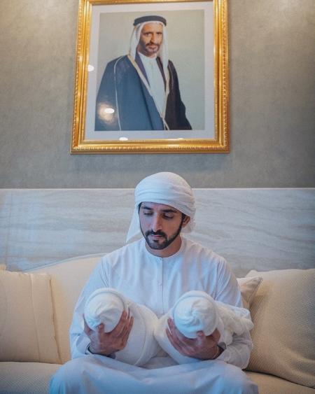 Уилл Смит оригинально поздравил наследного принца Дубая с рождением детей Монархи,Новости монархов