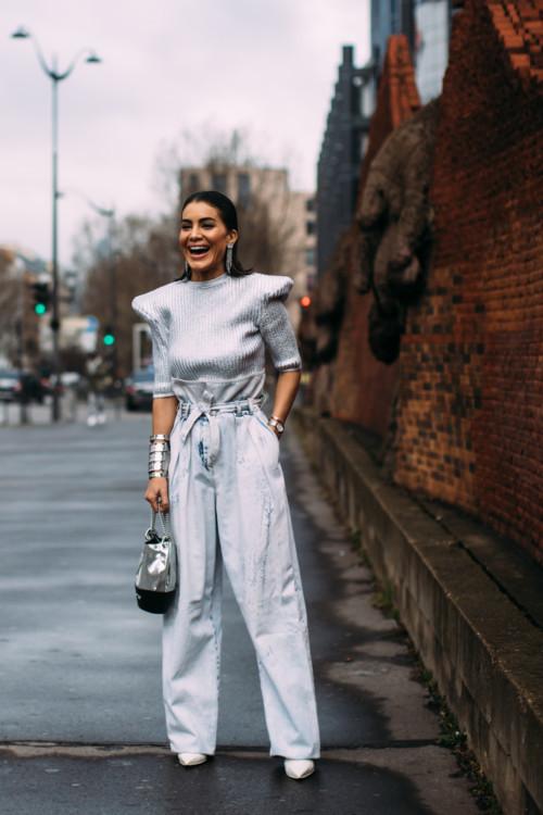 Модный стрит-стайл лук