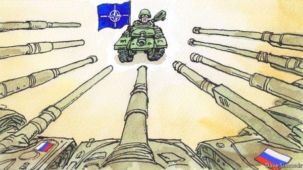 Карикатура: @antifashist.com/item/the-economist-rasskazal-o-voennom-preimushhestve-rossii-pered-nato.html
