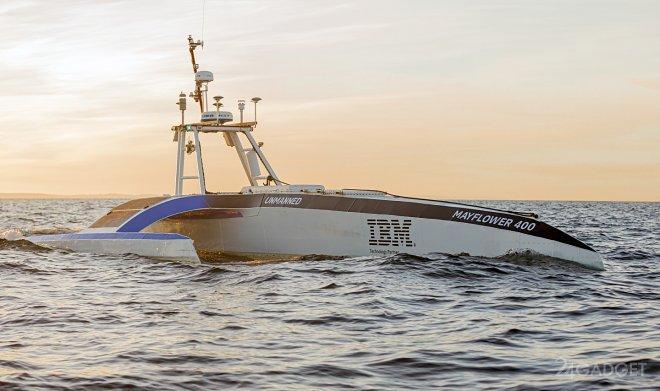 Судно-робот Mayflower сможет пересечь Атлантику без экипажа