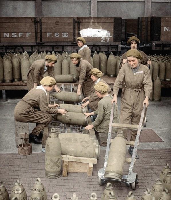 Эксклюзивные цветные снимки, повествующие о событиях Первой мировой войны