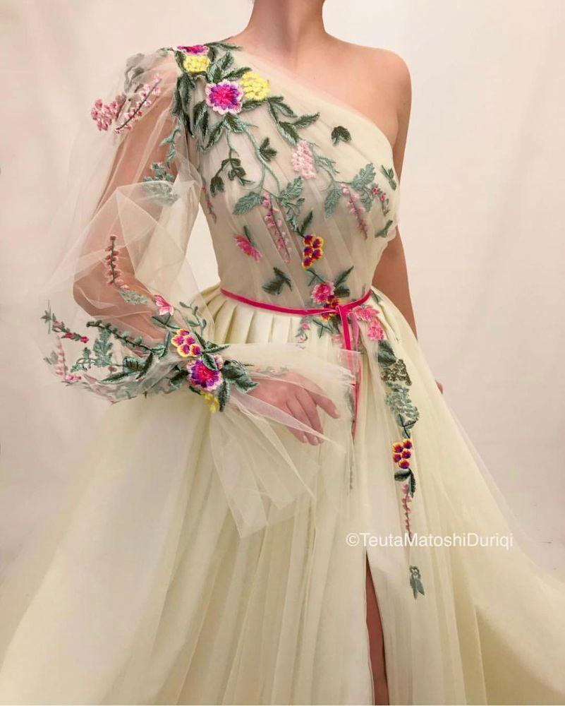 Непростой путь к мечте Теуты Матоши 20+ сказочных платьев бренда euta atoshi, фото № 22