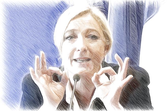 Марин Ле Пен поддержала Башара Асада