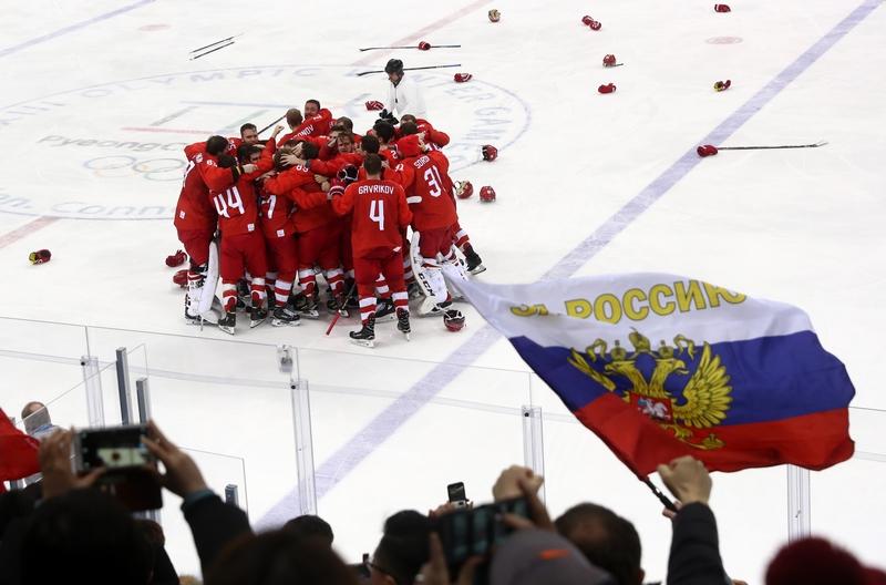 Русская «Красная машина» взя…
