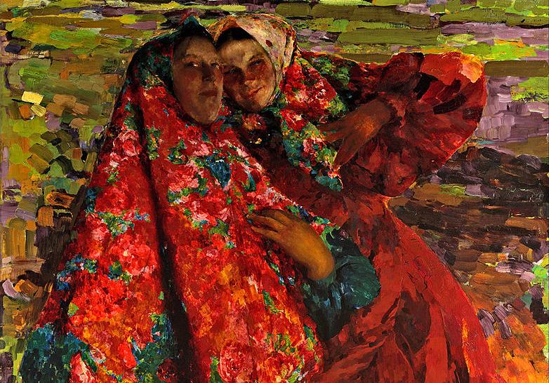 «По-бабьи», «по-купечески» и «по-дворянски»: как русские женщины повязывали платок