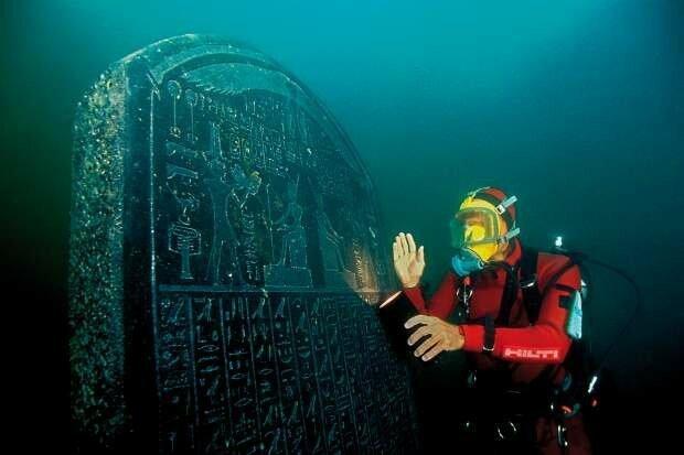 Тайны подводных городов