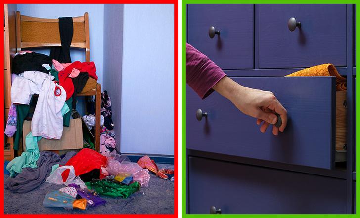 Как скрыть беспорядок исделать дом уютным за15минут доприхода гостей