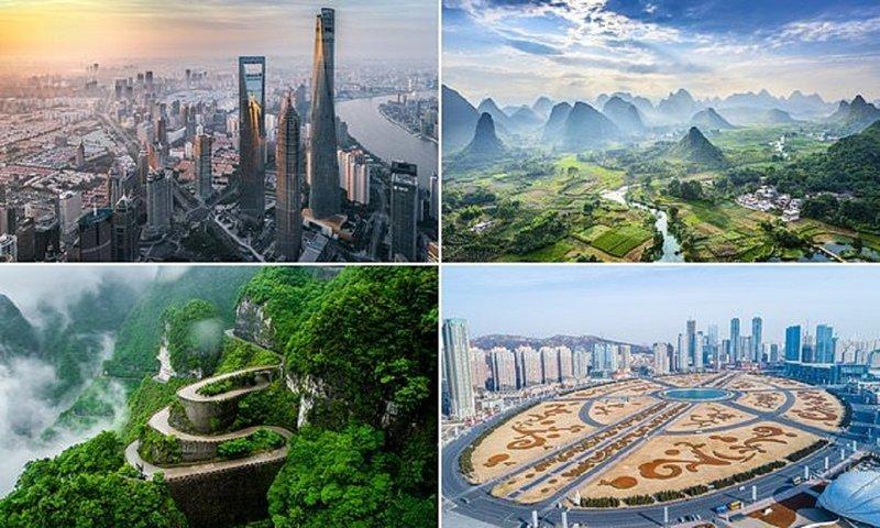 Такого Китая вы еще не видели! виды, города, китай, красота, необыкновенно, пейзажи, удивительно, фото
