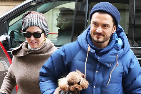 Кэти Перри и Орландо Блум замечены в Праге