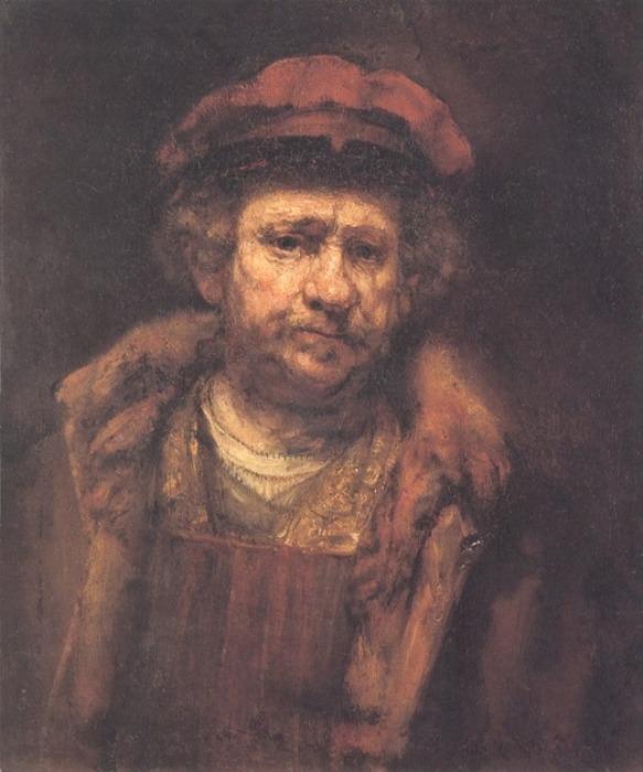 Ещё один автопортрет 1659 года. \ Фото: jbgravereaux.tumblr.com.