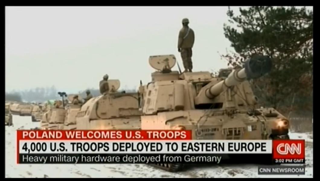 CNN: американские войска в Польше встретили как защитников от российской угрозы