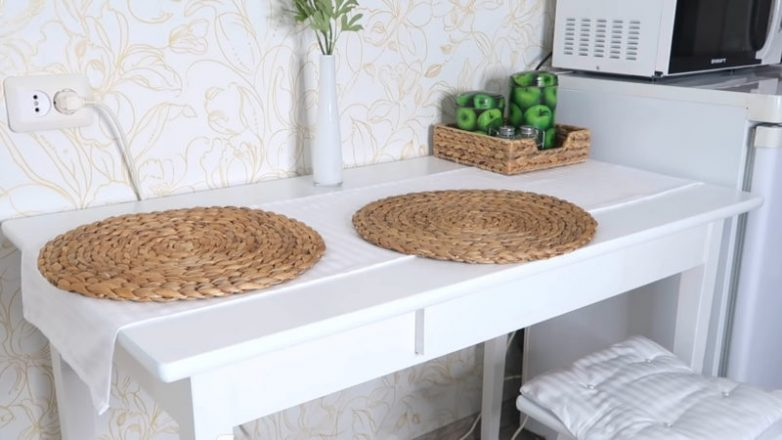 Переделка старого советского стола интерьер,мебельніе переделки,переделки,сделай сам