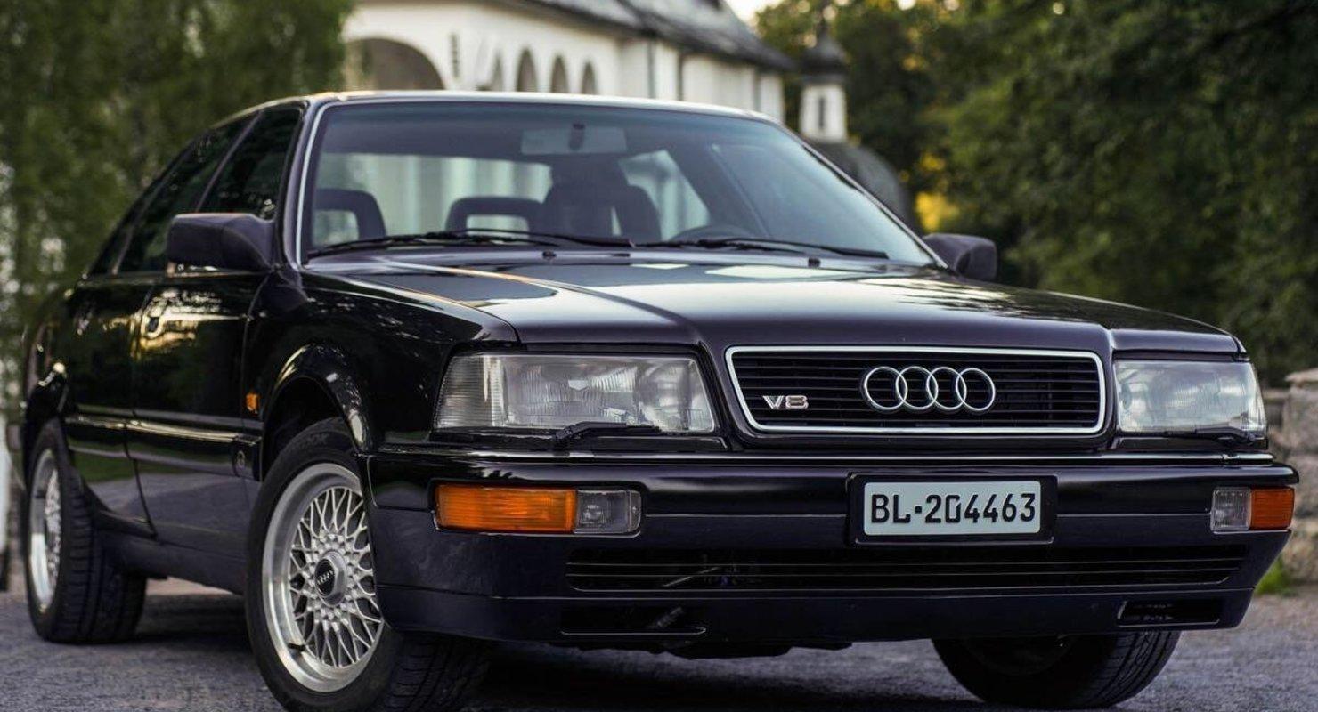 Лучше поздно, чем кое-как: Audi V8 Автомобили