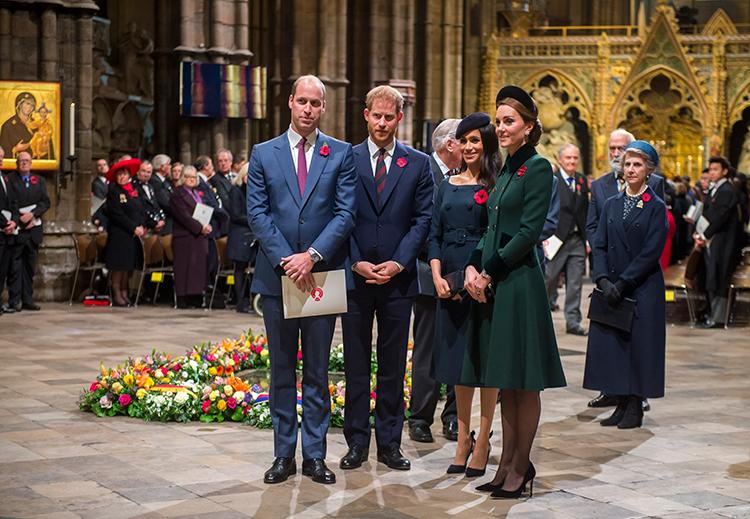 Кейт Миддлтон и принц Уильям поздравили Меган Маркл и принца Гарри с рождением дочери Монархи,Британские монархи
