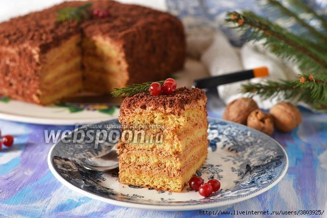 Торт 5 ложек - рецепт настолько прост, что запоминается с первого раза и навсегда!
