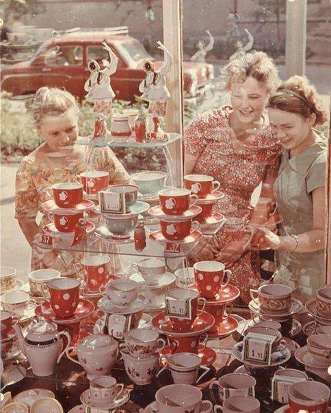 Фамильные сервизы СССР, детство, ностальгия, подборка
