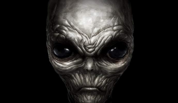 Американский мальчик видит жутких серых пришельцев