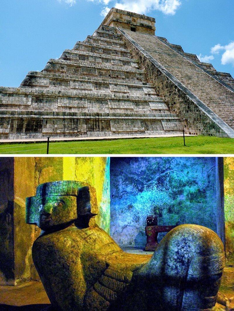Храм Кукулькана (Эль-Кастильо) достопримечательности, тайны, это интересно