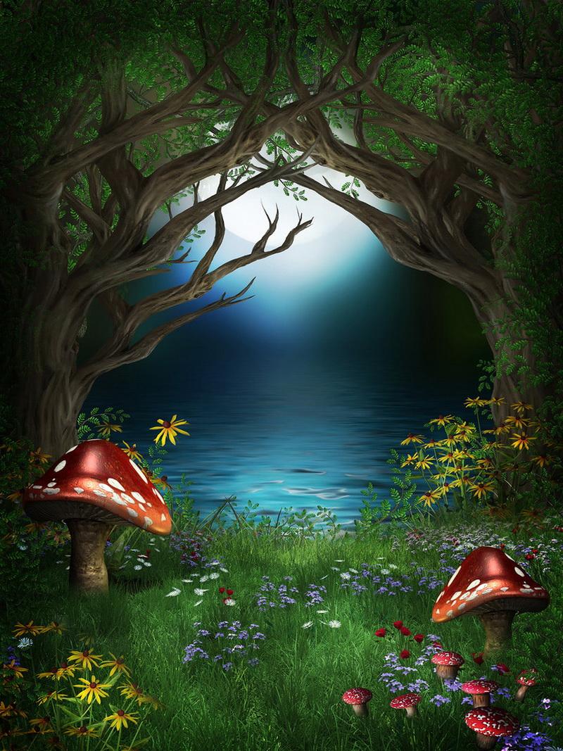 Картинки про чудеса природы сказочные